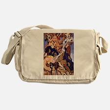 Celtic Queen Maev by Leyendecker Messenger Bag
