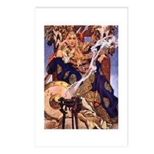 Celtic Queen Maev by Leye Postcards (Package of 8)