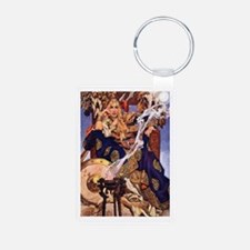 Celtic Queen Maev by Leyen Aluminum Photo Keychain