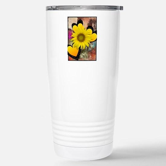 SUNNY YELLOW Stainless Steel Travel Mug