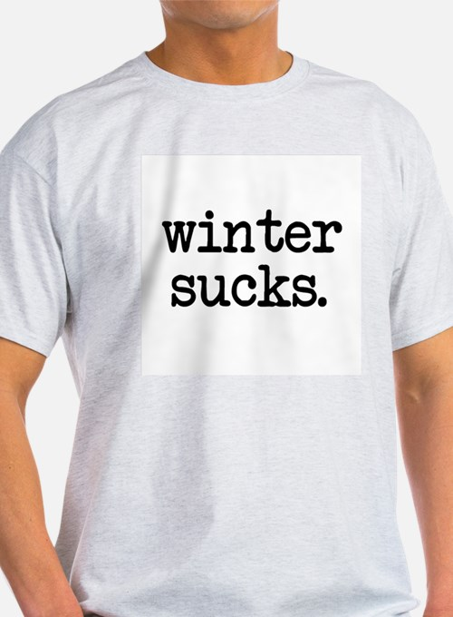 Cute Winter sucks T-Shirt