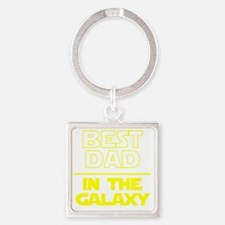 Funny Best dad Square Keychain