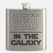 Cute Best dad Flask
