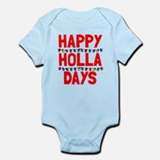 Happy holla days Infant Bodysuit