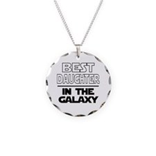 Funny Geeky Necklace Circle Charm