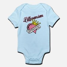 Lithuanian Princess Infant Bodysuit