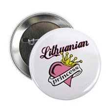 Lithuanian Princess Button