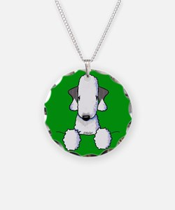 KiniArt Bedlington Terrier Necklace
