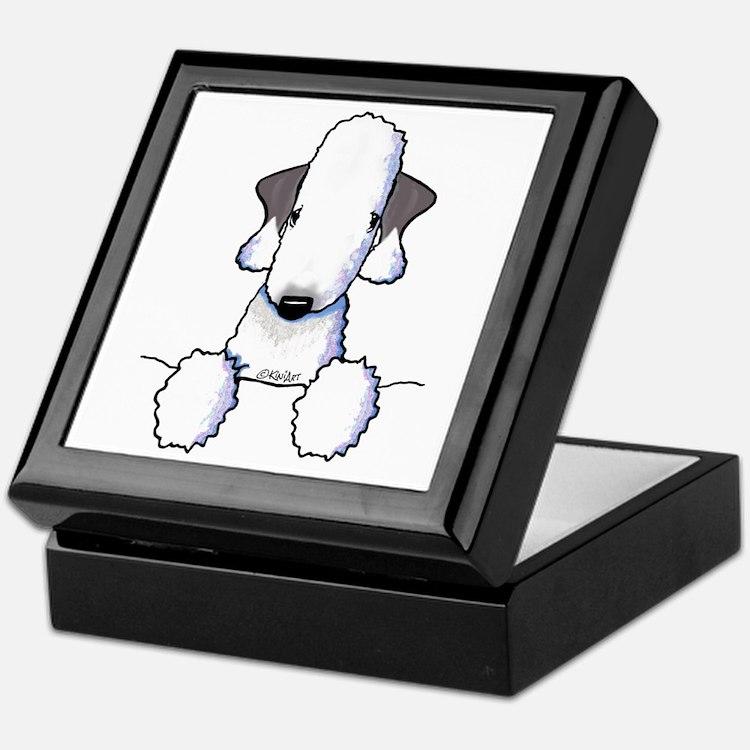 KiniArt Bedlington Terrier Keepsake Box