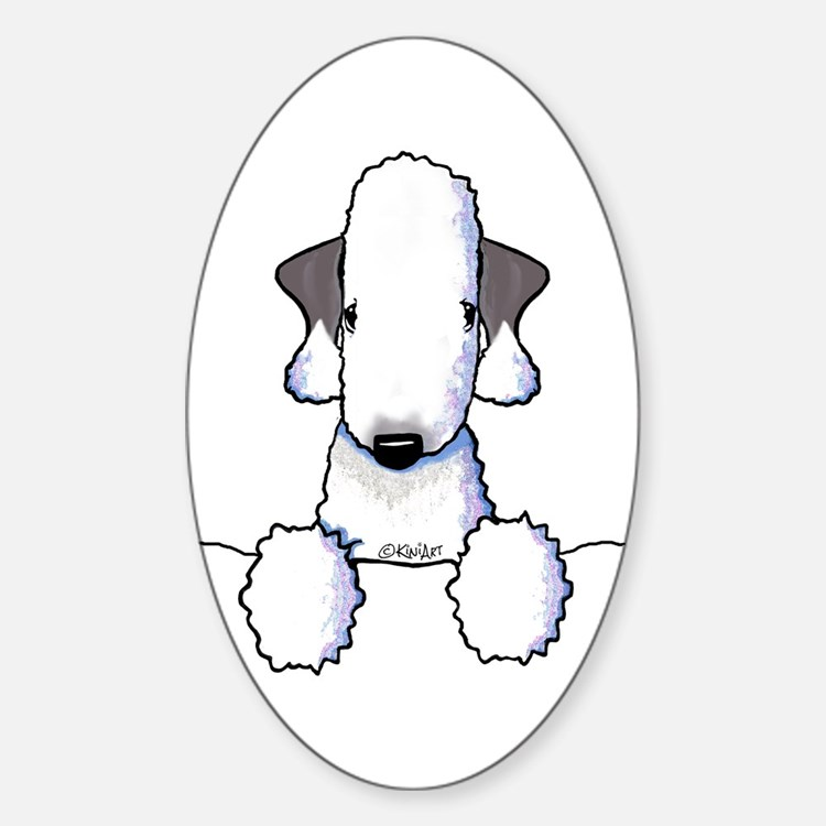 KiniArt Bedlington Terrier Decal