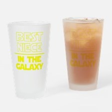 Unique Girl geek Drinking Glass