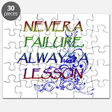 NEVER A FAILURE Puzzle