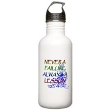 NEVER A FAILURE Water Bottle
