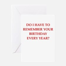 forgetful Greeting Cards