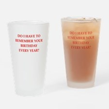 forgetful Drinking Glass