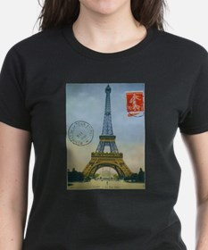 Cute Paris picture Tee