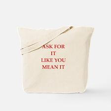 ask Tote Bag