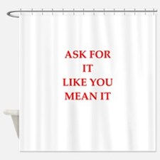 ask Shower Curtain