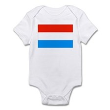 Luxembourgian Flag Infant Bodysuit