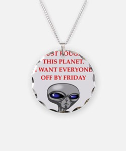 alien invasion Necklace