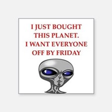 alien invasion Sticker