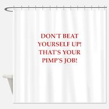 pimp Shower Curtain