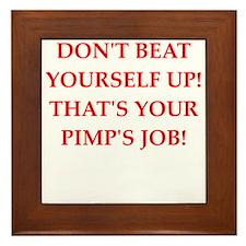 pimp Framed Tile