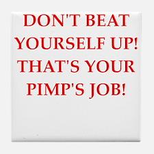 pimp Tile Coaster