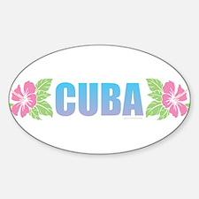 Cuba Design Decal