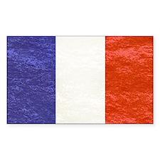 vintage flag of France Decal