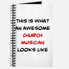 awesome church musician Journal