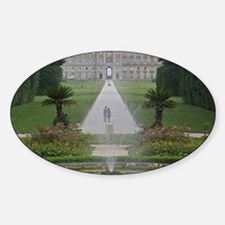 Cute Palaces Sticker (Oval)