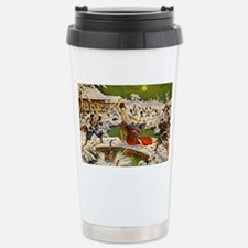 Japanese Art - 47 Ronin Travel Mug