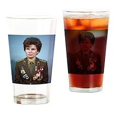 Funny Valentina Drinking Glass