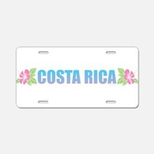 Costa Rica Aluminum License Plate