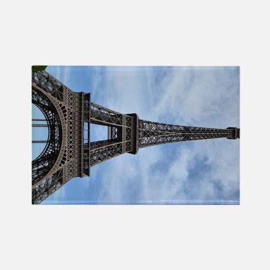 Cute Paris eiffel tower Rectangle Magnet