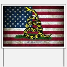 Molon Labe Flag Yard Sign