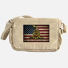 Molon Labe Flag Messenger Bag