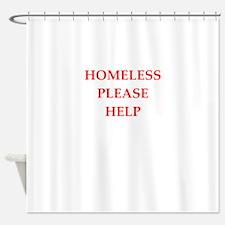 homeless Shower Curtain