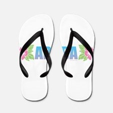 Aruba Design Flip Flops