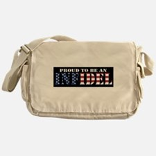 Proud to be an Infidel Messenger Bag