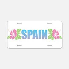 Spain Aluminum License Plate
