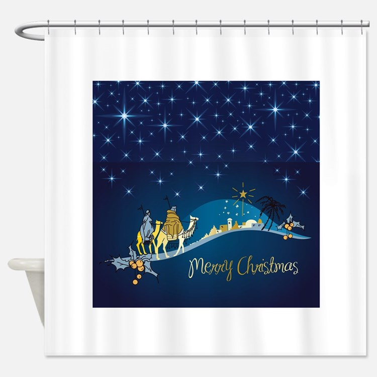Three Wise Men Shower Curtains