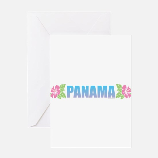 Panama Design Greeting Cards