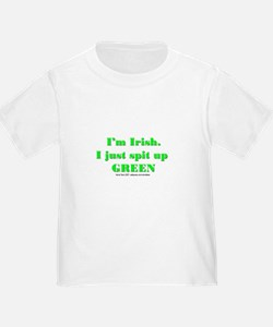 Spit up Green T