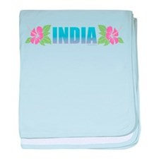 India baby blanket