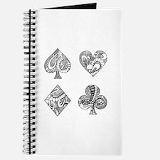Ace, Spade, Diamond, Club Journal