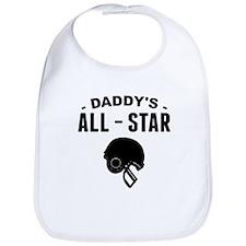 Daddys All-Star Football Bib