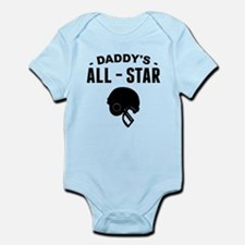 Daddys All-Star Football Body Suit