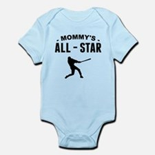 Mommys All-Star Baseball Body Suit